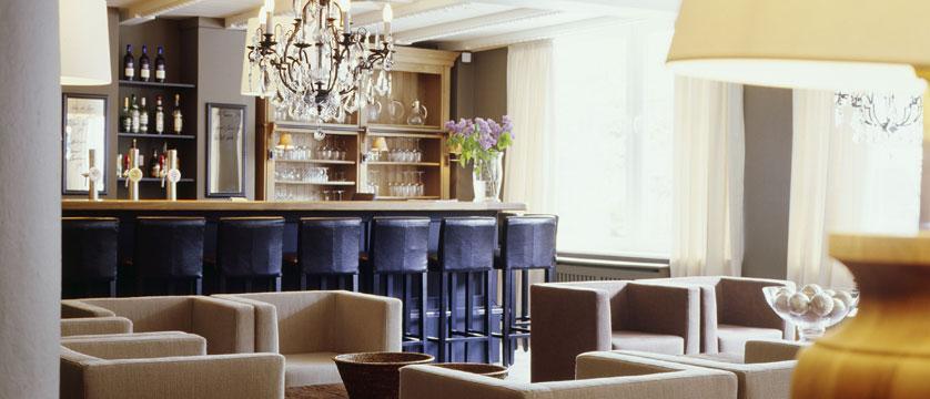 Q Hotel Maria Theresia, Kitzbühel, Austria - Lounge & Bar area.jpg